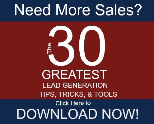 The 30 Lead Generation Tips Ebook